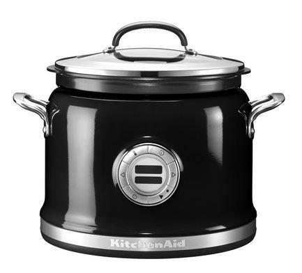 Мультиварка KitchenAid (3.78 л), 14 режимов приготовления, черная