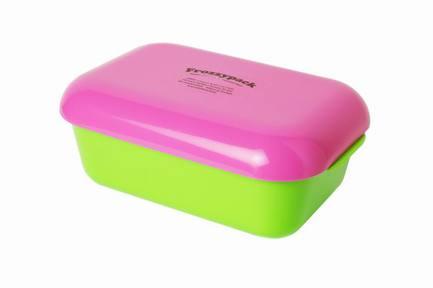 Контейнер Фроззипак с охлаждающим элементом Summer Edt (0.9 л), 19.5х12 см, зелено-вишневыйКонтейнеры<br><br><br>Серия: Frozzypack