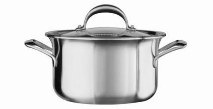 Кастрюля для соуса (2.84 л), 18 см, 5-ти слойнаяПосуда<br><br><br>Серия: Cookware