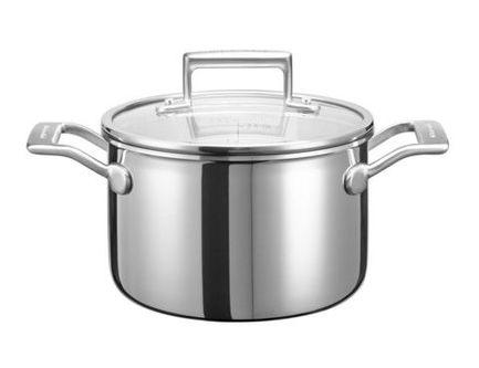 Кастрюля для соуса (2.84 л), 18 см, 3-х слойнаяПосуда<br><br><br>Серия: Cookware