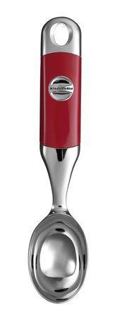 Ложка для мороженого, краснаяИнструмент для мороженого и фруктов<br><br><br>Серия: Gadgets &amp; Utensils