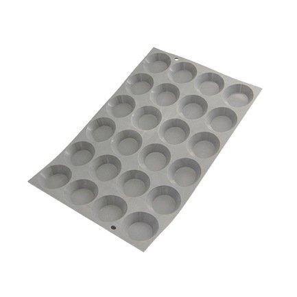 Порционная форма Мини-Тарталетки Эластомуль (9.5 мл), 4.5 см (1853.01D)Силиконовые формы<br><br><br>Серия: Elastomoule