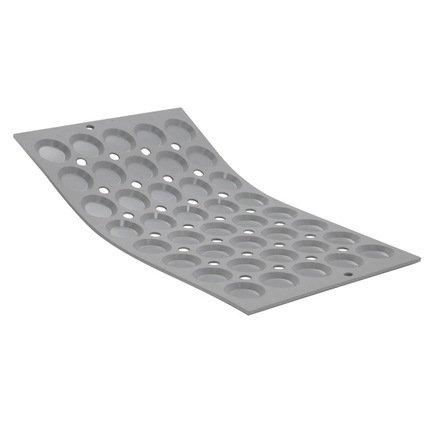 Порционная форма Мини-тарталетки Эластомуль, 40 формочек, 3 см (1867.01)Силиконовые формы<br><br><br>Серия: Elastomoule