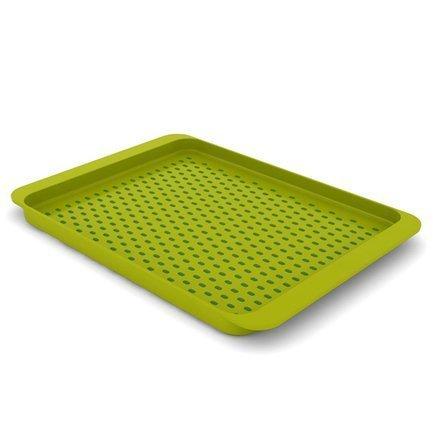 Поднос для сервировки Grip Tray средний, 45.4х2.5х35 см, зеленый