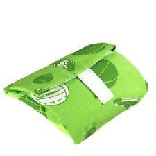 Многоразовая упаковка для бутербродов, 17х15х1.2 см, зеленая