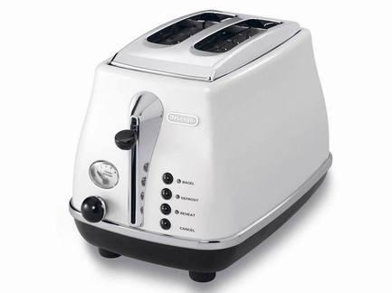 Тостер на 2 хлебца Icona, белый