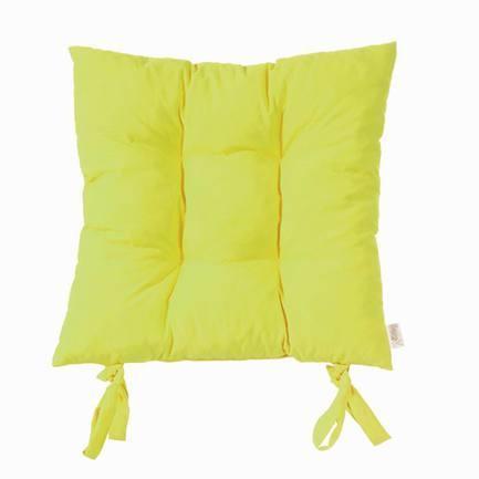 """Подушка на стул """"Фисташка"""", 40x40 см, салатовая от Superposuda"""