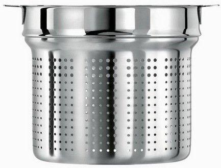 Вставной элемент для варки спагетти Кастелин, 24 см (ECP24CC)Пароварки<br>Любителям макаронных изделий невероятно повезло, потому что со вставкой для варки спагетти готовить пасту легко и удобно. Вставка обладает исключительными тепловыми характеристиками и позволяет готовить без добавления воды и жира. Она обеспечивает равномерное распределение тепла и не дает макаронным изделиям слипаться и развариваться. Вставка также пригодится для приготовления спаржи.<br><br>Серия: Casteline fixes