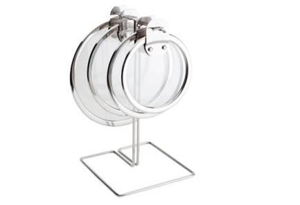 Подставка-держатель для крышек на ножкеКухонные держатели и рейлинги<br><br>