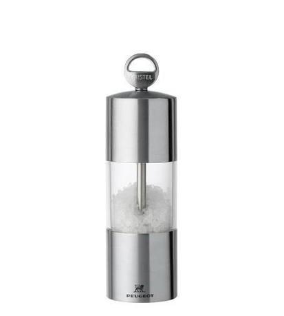 Мельничка для соли прозрачная, 15 см, мехаизм ПежоМельницы для перца, соли, специй<br><br><br>Серия: Навеска