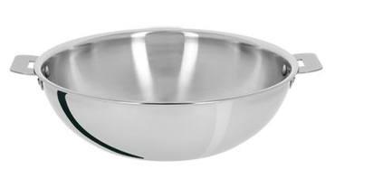 Вок Триламин (1.6 л), 20х6.8 см, без ручекВоки (Азиатские сковороды)<br>Вок Триламин - великолепная сковорода для приготовления блюд азиатской кухни. Его форма, высокие стенки и дно небольшого диаметра идеально подходят для обжаривания кусочков мяса, овощей и рыбы и приготовления других блюд на большом огне. Продукты в воке подвергаются быстрой термической обработке, сохраняя при этом свои вкусовые качества и полезные вещества.<br><br>Серия: Complements