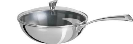 Вок Триламин с выпуклой стеклянной крышкой, 24 см (2.7 л)Воки (Азиатские сковороды)<br><br><br>Серия: Casteline fixes
