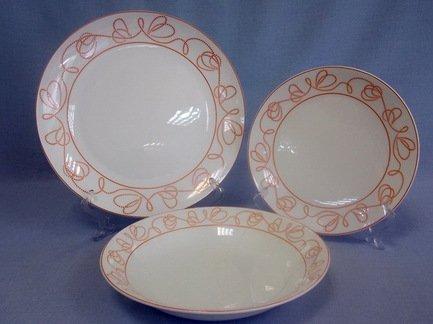 Набор тарелок Болеро на 6 персон, 18 пр.Распродажа<br><br><br>Серия: Болеро<br>Состав: Тарелка подстановочная, 26.5 см - 6 шт., Тарелка закусочная, 20.5 см - 6 шт., Тарелка суповая, 22 см - 6 шт.