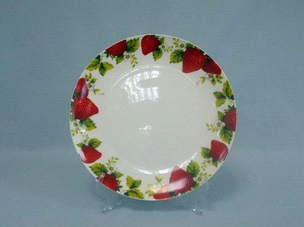 Набор закусочных тарелок Клубника, 20.5 см, 6 пр.Распродажа<br><br><br>Серия: Клубника
