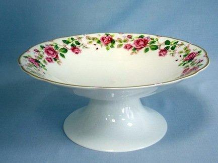 Ваза для фруктов Роза чайная, 27х12 см