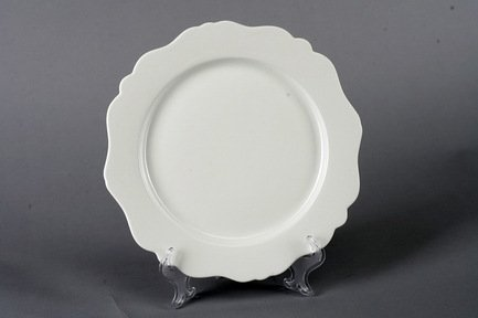 Набор подстановочных тарелок Гармония, 26.5 см, 6 пр., белые