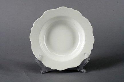 Набор суповых тарелок Гармония, 22.5 см, 6 пр., белые