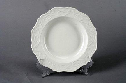 Набор суповых тарелок Камея, 21.5 см, 6 пр., белые