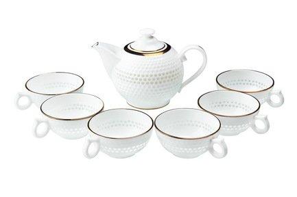 Подарочный набор чайный Гольф на 6 персон, 7 пр.