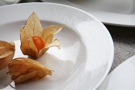 Столовый сервиз Феникс на 6 персон, 27 пр.Столовые сервизы<br><br><br>Серия: Феникс<br>Состав: Тарелка плоская, 20 см - 6 шт., Тарелка плоская, 27 см - 6 шт., Тарелка суповая, 19.5 см - 6 шт., Салатник, 15 см - 6 шт., Блюдо овальное, 31 см, Солонка, Перечница
