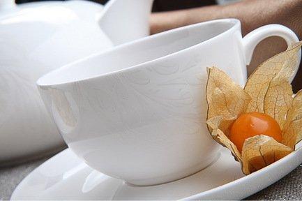Чайный сервиз Феникс на 6 персон, 13 пр.Чайные сервизы<br><br><br>Серия: Феникс<br>Состав: Чашка (300 мл) - 6 шт., Блюдце, 15 см - 6 шт., Чайник (1.3 л)