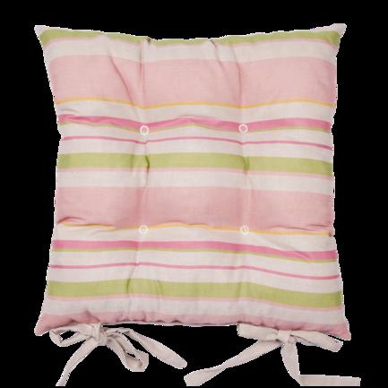 Подушка на стул Розовая гортензия, 45х45 см, розоваяПодушки на стул<br><br><br>Серия: Apolena Прованс