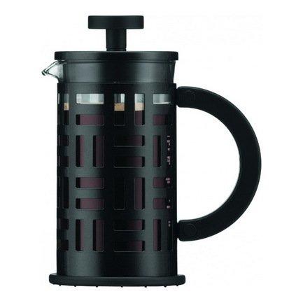 Кофейник с прессом Eileen (0.35 л), черный, 13х8х15.8 см