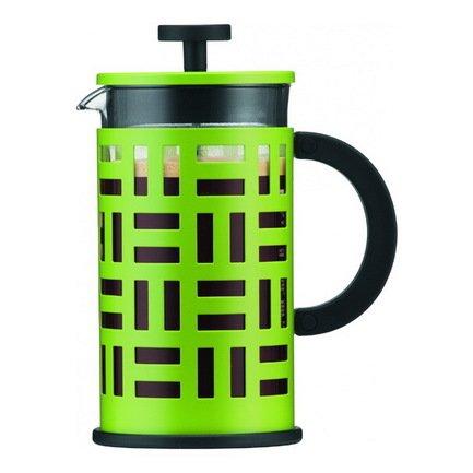 Кофейник с прессом Eileen (0.35 л), зеленый, 13х8х15.8 см
