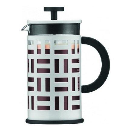 Кофейник с прессом Eileen (0.35 л), белый, 13х8х15.8 смКофеварки гейзерные и Турки<br><br><br>Серия: Eileen