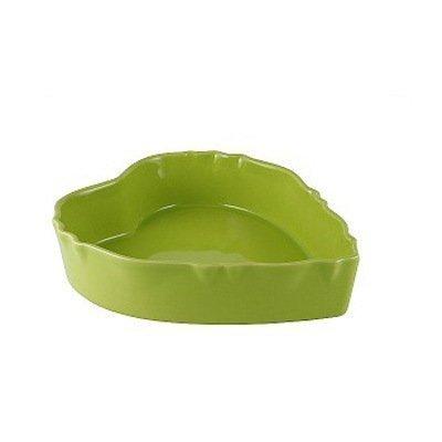 Форма для запекания, сердце, 29 см, светло-зеленая