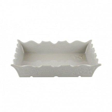 Форма для кекса, 30х15 см, кремовая