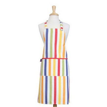 Фартук в полоску с карманом, 67х85 см, разноцветныйФартуки<br><br><br>Серия: Регатта
