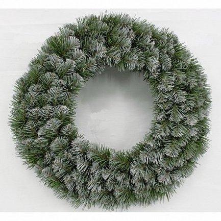 Декор Круг Колорадо, 90 см, заснеженный от Superposuda