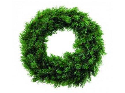 Декор Круг Лесная Красавица, 90 см, зеленая от Superposuda
