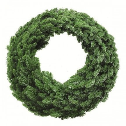 Декор Круг Нормандия, 90 см, зеленый от Superposuda