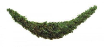 Декор Лесная Красавица, 180х36 см, зеленая от Superposuda