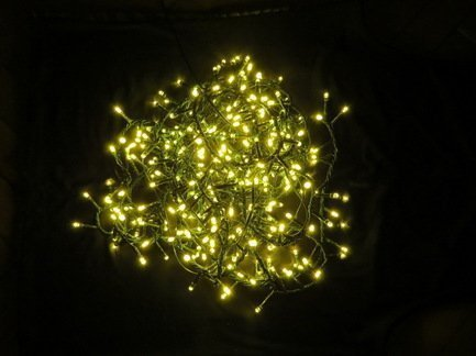 Гирлянда теплый свет, 8 функций, контроллер, 550 ламп, для елки 185 смНовогодние гирлянды<br><br>