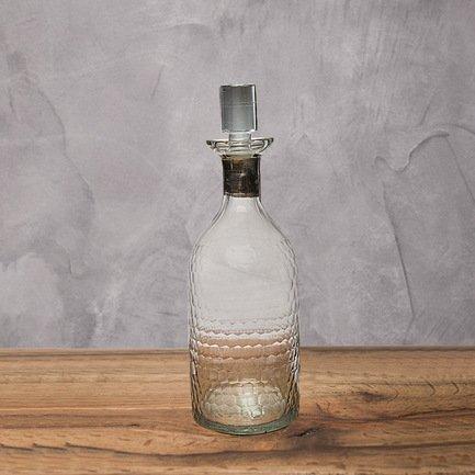 Бутыль, 10x10x29 см, прозрачная
