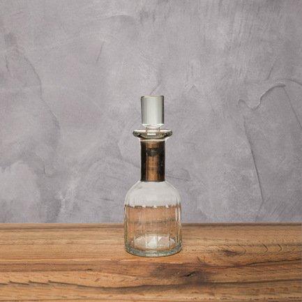Бутыль, 7x7x18 см, прозрачная