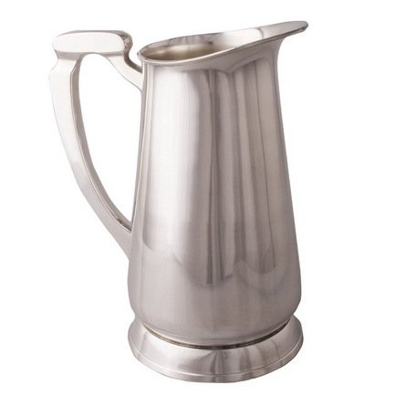 Кувшин, 17x17x21 см, серебряный