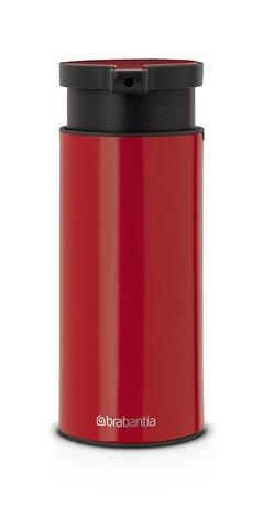 Диспенсер для жидкого мыла, 16.5х6.5х9.5 см, красный