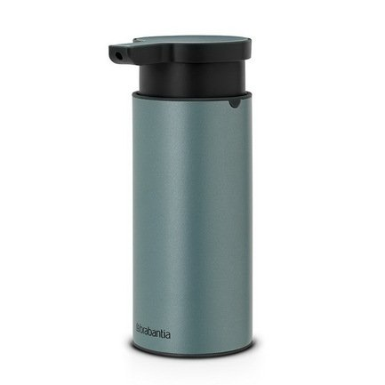 Диспенсер для жидкого мыла, 16.5х6.5х9.5 см, мятныйАксессуары для ванной<br><br>