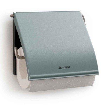 Держатель для туалетной бумаги, 12.3х13.3х1.7 см, мятныйАксессуары для ванной<br><br>