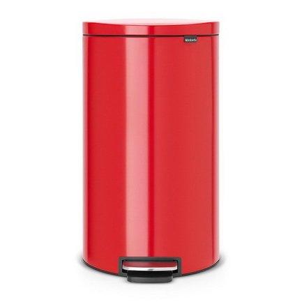 Мусорный бак с педалью FB (30 л), красный