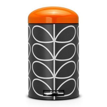 Ведро для мусора Retro (12 л), OK, графитМусорные ведра<br><br><br>Серия: Retro Bin Silent