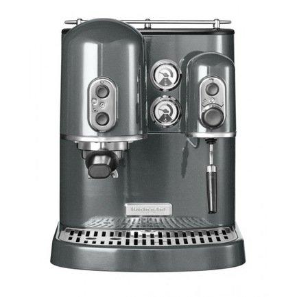 Кофеварка Artisan Espresso, серебрянный медальон
