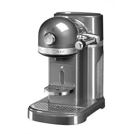 Кофемашина капсульная Artisan Nespresso с баком (1.4 л), серебрянный медальон