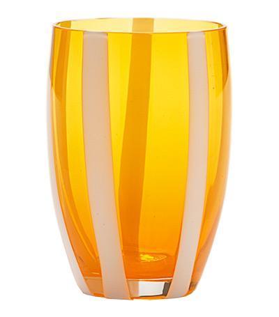 Стакан для сока и воды Джессато (320 мл), оранжевыйСтаканы<br><br><br>Серия: Gessato