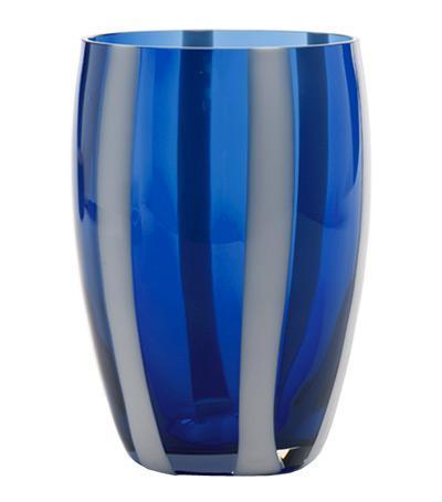 Стакан для сока и воды Джессато (320 мл), синийСтаканы<br><br><br>Серия: Gessato