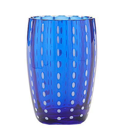 Стакан для сока и воды Перле (320 мл), синий